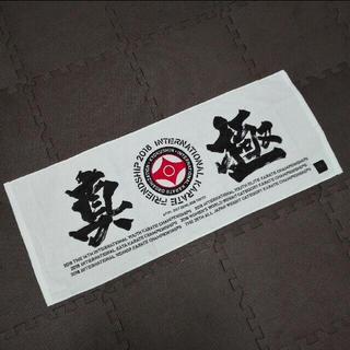 極真空手 タオル(相撲/武道)