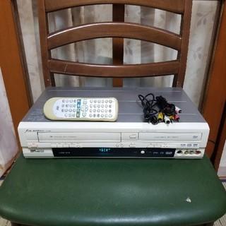 ダビング完動美品❗DXアンテナVHS/DVD一体型レコーダーDVR200E3(DVDレコーダー)