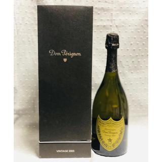 ドンペリニヨン(Dom Pérignon)の【新品同様】ドンペリ 2003 化粧箱付き(シャンパン/スパークリングワイン)