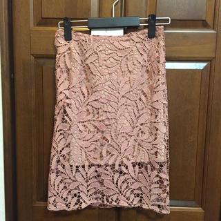 カラー(Color)の新品未使用 Color レーススカート(ひざ丈スカート)