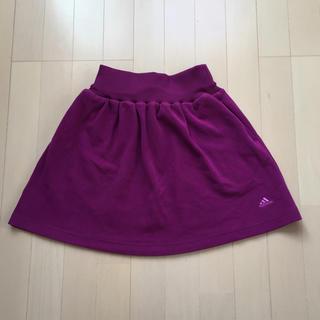 アディダス(adidas)のadidas 起毛 スエット スカート m size(ミニスカート)