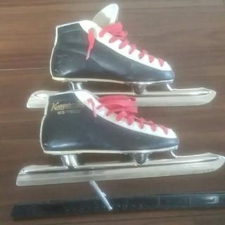 スピードスケート靴(20.0㎝)(ウインタースポーツ)