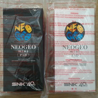 ネオジオ(NEOGEO)のneogeo mini pad (白、もしくは黒を1つ)(その他)
