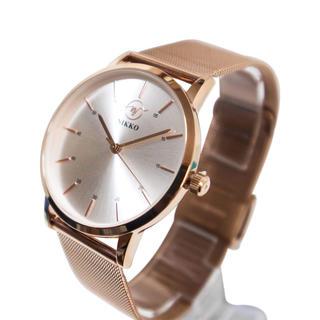 ニッコー(NIKKO)のレディース腕時計ローズゴールド(その他)