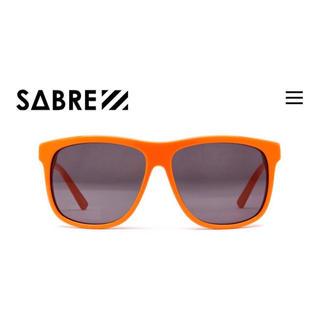 セイバー(SABRE)のお値下げ!LA買付 廃盤レア!SABRE POOLSIDE オレンジ(サングラス/メガネ)