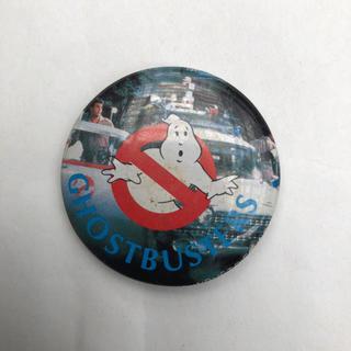 缶バッジ レア ゴーストバスターズ  80年代(バッジ/ピンバッジ)