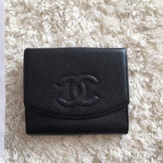 シャネル(CHANEL)のCHANEL 二つ折り財布(財布)