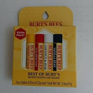 バーツビーズ(BURT'S BEES)のバーツビーズ リップ 新品4本セット(リップケア/リップクリーム)