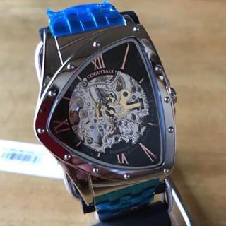 コグ(COGU)の特価❗️コグ COGU フルスケルトン 自動巻き 腕時計 BS0TM-BK(腕時計(アナログ))