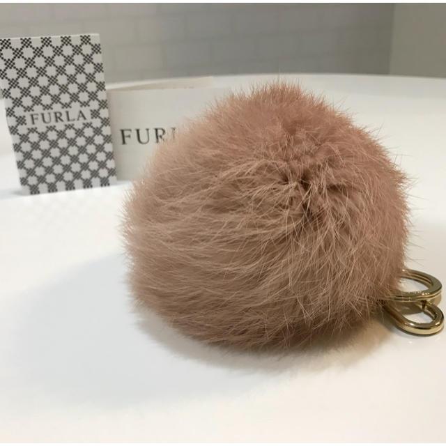 Furla(フルラ)の【新品】FURLA フルラ  リアルファーチャーム レディースのファッション小物(キーホルダー)の商品写真