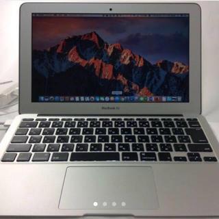 マック(Mac (Apple))のMacBook air 2013(ノートPC)