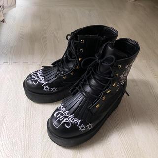 バナナチップス(BANANA CHIPS)のai様専用バナナチップスブーツ22cm(ブーツ)