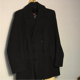 グローバーオール(Gloverall)のコート gloverall リーファー navy 中古品(ピーコート)