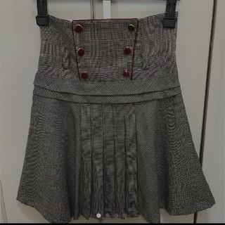 スモーク(Smork)のスモーク♥グレンチェックのハイウエストスカート♥(ひざ丈スカート)