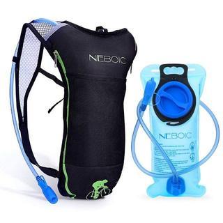 ハイドレーションバッグ 防水 軽量 2L給水袋広口付き(バッグ)