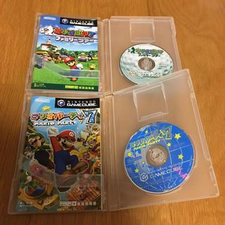 ニンテンドーゲームキューブ(ニンテンドーゲームキューブ)のマリオソフト(家庭用ゲームソフト)