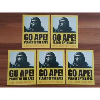 A BATHING APE - [送料無]猿の惑星30周年記念ステッカー5枚セット*apesupremekaws