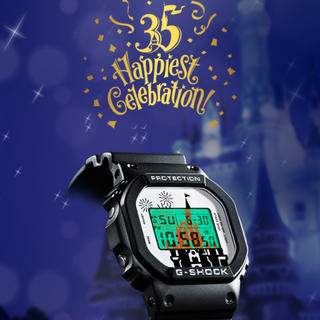 ディズニー(Disney)のディズニー 35周年 限定 G-shock(腕時計(デジタル))