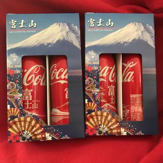 富士山限定コカ・コーラ缶(ソフトドリンク)