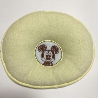 ディズニー(Disney)のミッキー刺繍 ベビー枕 新生児(枕)