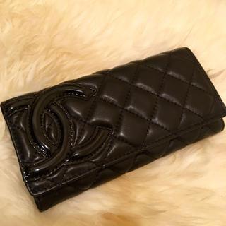 シャネル(CHANEL)の新品未使用 シャネル カンボンライン 長財布(財布)