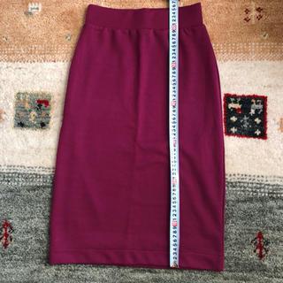 エリアーヌジジ(elianegigi)のスウェットタイトスカート(ひざ丈スカート)