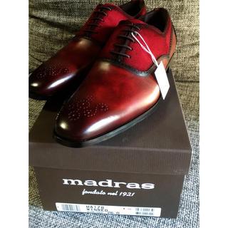マドラス(madras)のmadras  MA178 ワインレッド  26.0 新品未使用(ドレス/ビジネス)