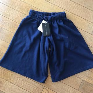 シスキー(ShISKY)の新品★SHISKY ガウチョパンツ 110cm 紺色ネイビー(パンツ/スパッツ)