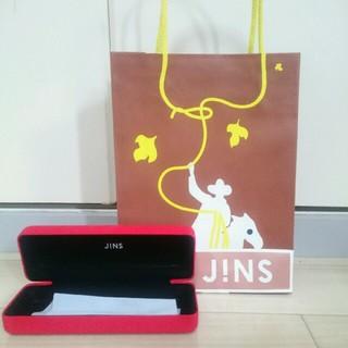 ジンズ(JINS)のJINS メガネケース 紙袋 2018AW(サングラス/メガネ)