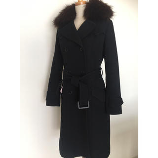 ニコルミラー(Nicole Miller)のニコルミラー ファー付き コート(毛皮/ファーコート)