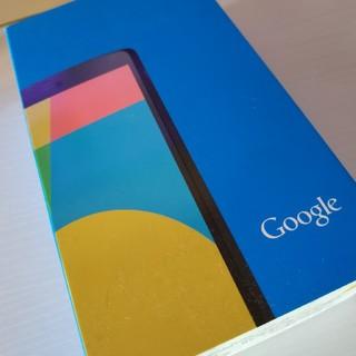 エルジーエレクトロニクス(LG Electronics)のNexus5 16GB 黒(スマートフォン本体)