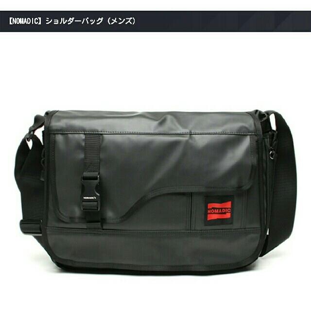 NOMADIC(ノーマディック)の月末セール☆mnemonic ショルダーバッグ メンズのバッグ(ビジネスバッグ)の商品写真