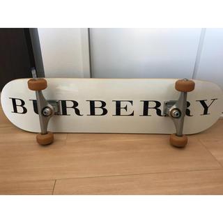 バーバリーブラックレーベル(BURBERRY BLACK LABEL)の【美品】貴重品!バーバリー スケボー(スケートボード)