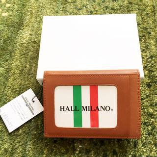 ハルミラノ(HALL MILANO)の新品☆ HALL MILANO カードケース(名刺入れ/定期入れ)