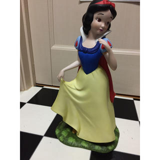 シラユキヒメ(白雪姫)の廃番品  加藤工芸  Disneyプリンセス白雪姫   陶器人形フィギュア(置物)