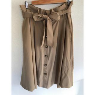 シマムラ(しまむら)の大きいサイズ 3L トレンチスカート(ひざ丈スカート)