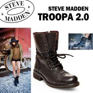 スティーブマデン(Steve Madden)の⭐️必読&即買可⭐️スティーブ マデン ブーツ US6 JP23Cmアウトレット(ブーツ)