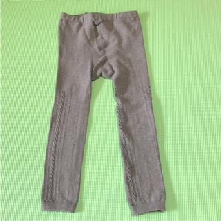 ムジルシリョウヒン(MUJI (無印良品))のグレー タイツ・レギンス(靴下/タイツ)