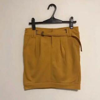 ゴーサンゴーイチプーラファム(5351 POUR LES FEMMES)の【新品】5351 POUR LES FEMMES イエロー スカート(ミニスカート)