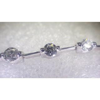 デビアス(DE BEERS)のDe Beers💎天然ダイヤ 2.50ct K18金 ブレスレット デビアス(ブレスレット/バングル)