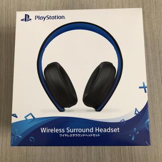 プレイステーション(PlayStation)のワイヤレスサラウンドヘッドセット(その他)