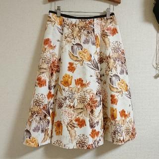 カラー(Color)のcolor 花柄 スカート zara エムズグレイシー エストネーション系(ひざ丈スカート)