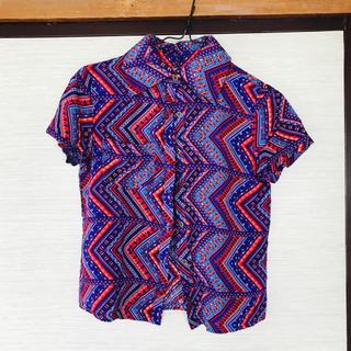 ガルラ(GARULA)のガルラ エキゾチックシャツ(シャツ/ブラウス(半袖/袖なし))