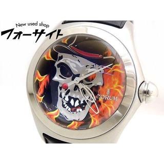 コルム(CORUM)の コルム■バブル バロン・サメディ 自動巻き メンズ 時計(腕時計(アナログ))