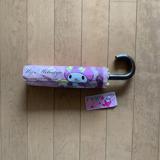 新品タグ付き   マイメロディ  折りたたみ傘(傘)