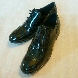 ガリャルダガランテ(GALLARDA GALANTE)の新品未使用☆エナメルシューズ 38(ローファー/革靴)