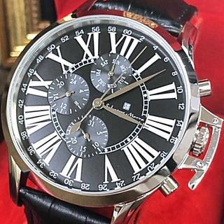 サルバトーレマーラ(Salvatore Marra)のサルバトーレマーラ クォーツ 腕時計 メンズ 保証書付 正規品! レザーベルト(腕時計(アナログ))