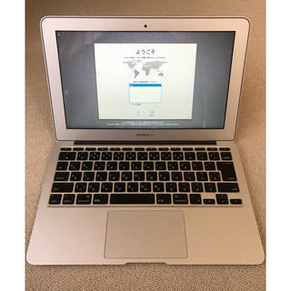 マック(Mac (Apple))のmacbook air 11インチ (ノートPC)