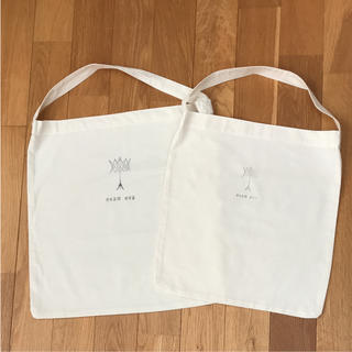 エヴァムエヴァ(evam eva)のevam  evaショップバック2枚セット②(ショップ袋)