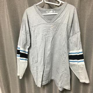 トーガ(TOGA)のtoga virilis メッシュスリーブカットソー(Tシャツ/カットソー(七分/長袖))